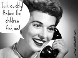 Children and Phone Calls - Suburble