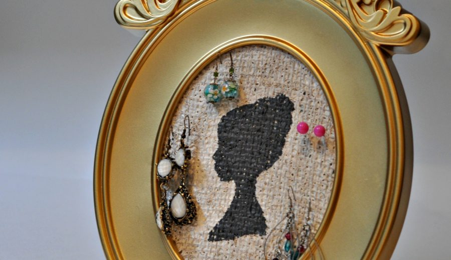 Jewellery Organizer Tutorial (that doubles as a fabulous art piece!)