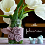 Setting The Table: Mason Jars and An Unexpected Fabric Purchase