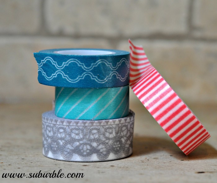 Washi Tape Specimen Art 14 - Suburble