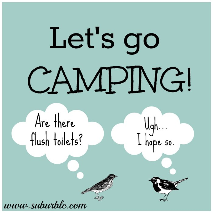 Let's Go Camping - Suburble