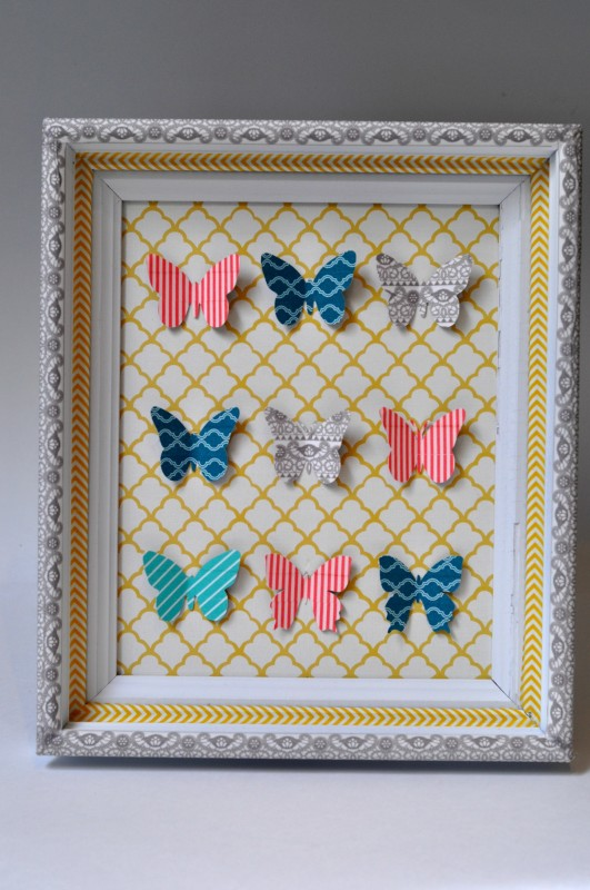 washi butterfly specimen art 55 - suburble