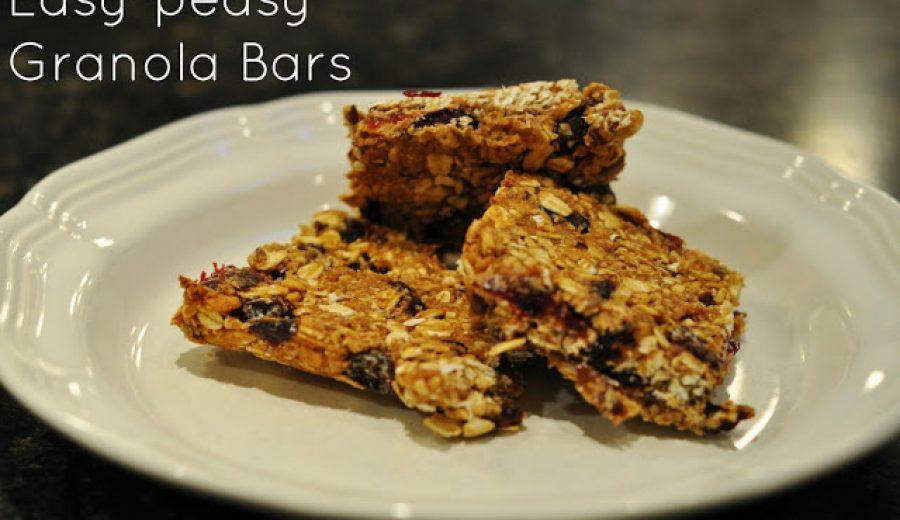 Homemade Granola Bars That Don't Taste Like The Forest Floor!