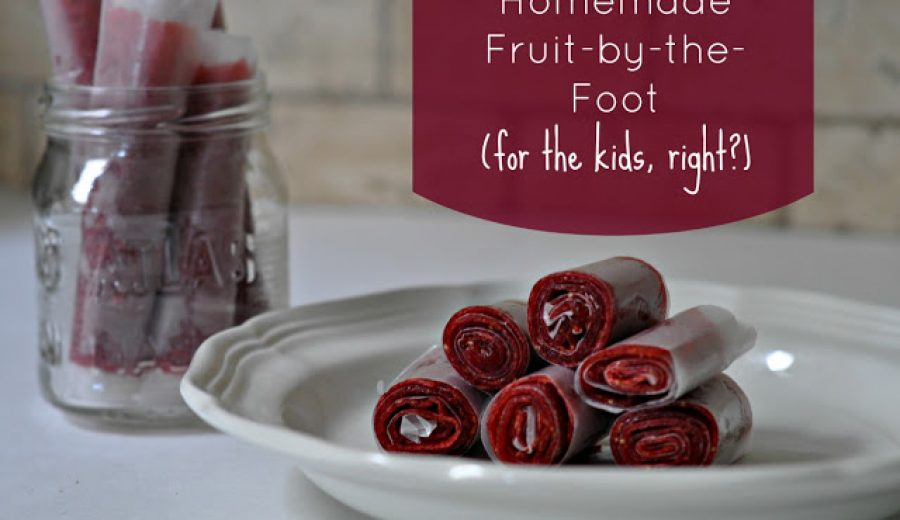Strawberry Fruit-by-the-Foot: Make It At Home!