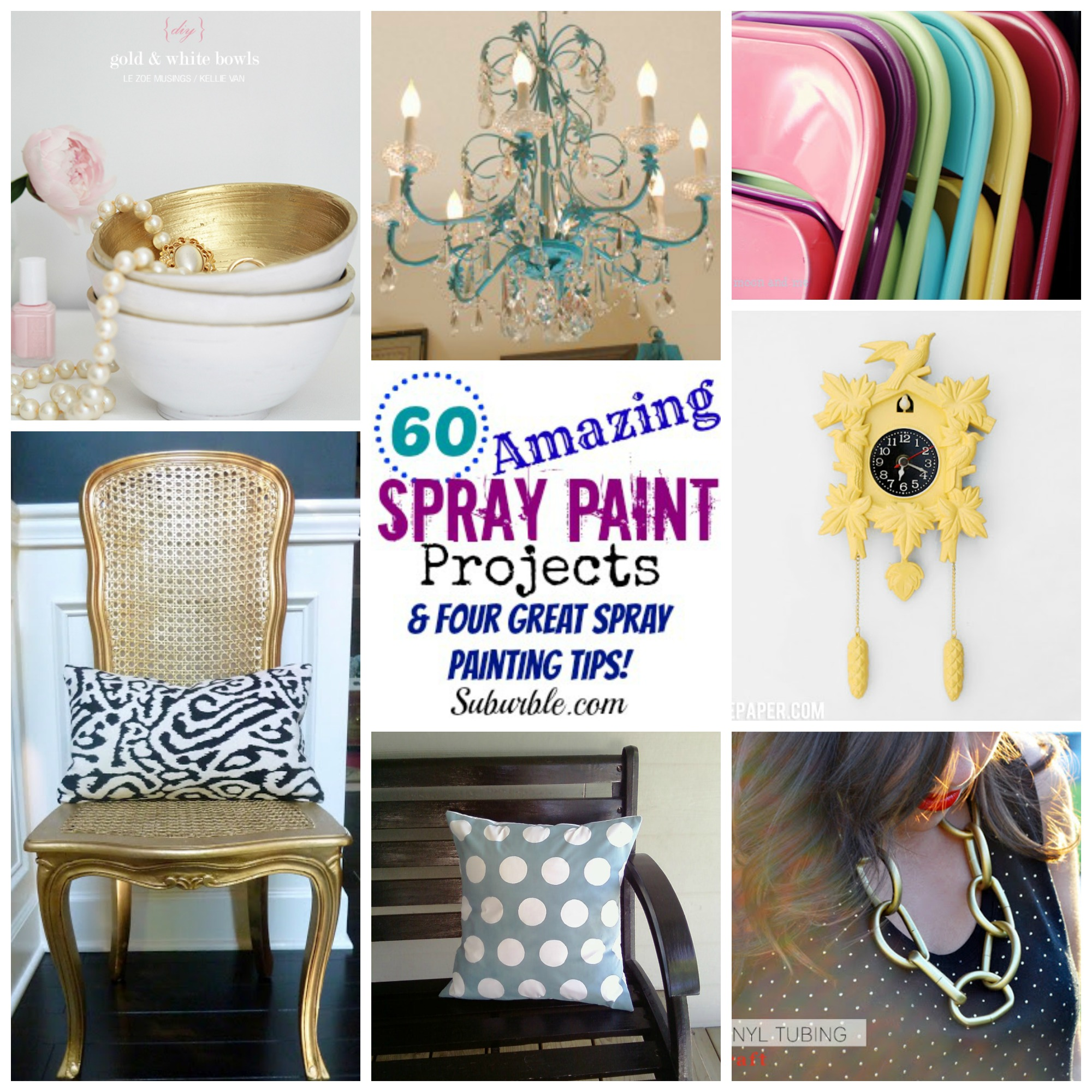 60 amazing spray paint projects four great spray for Diy paint