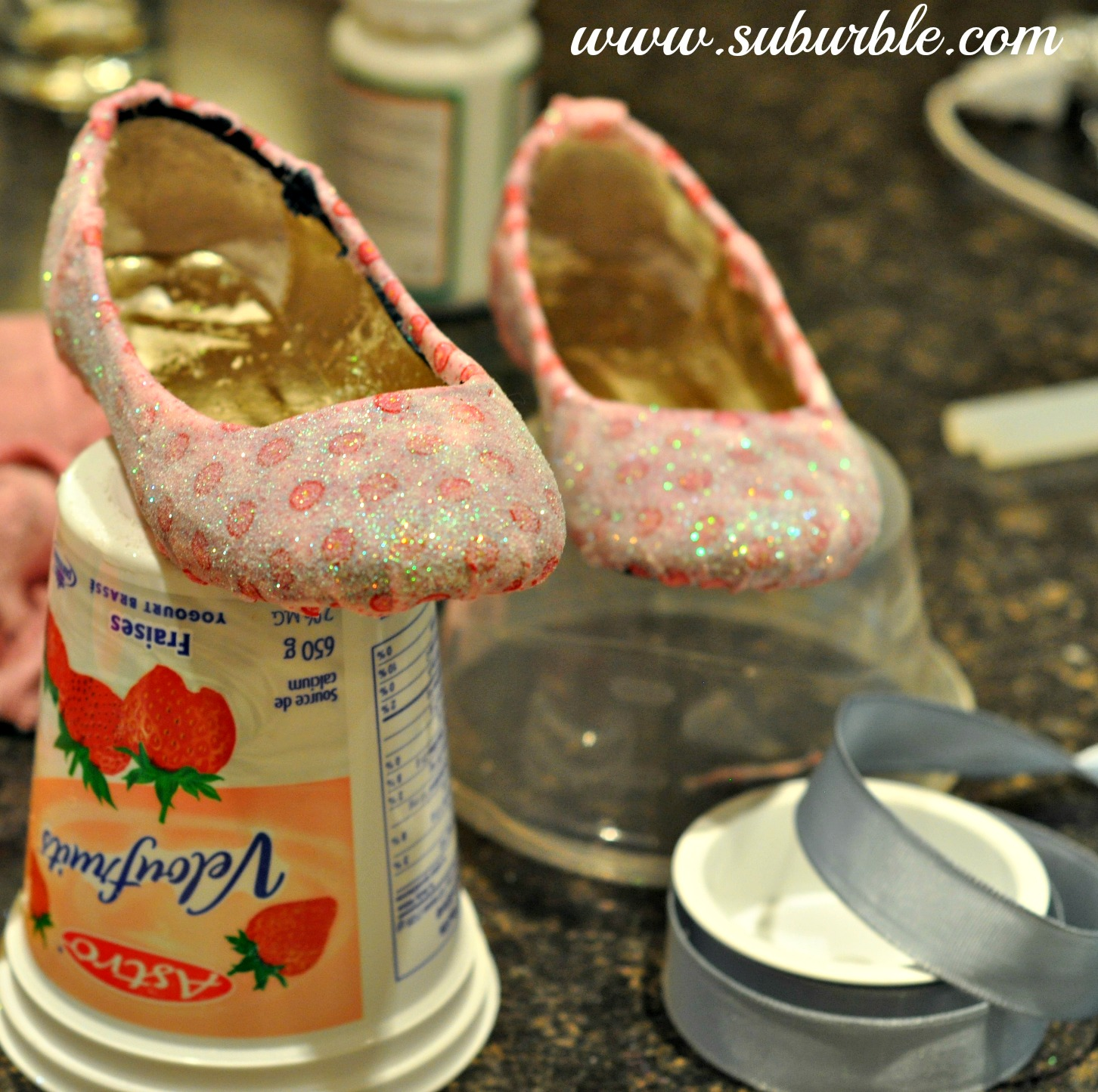 Diy Glitter Shoes For The Little Girl Who Loves To Sparkle