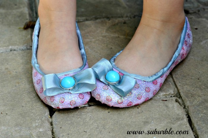 DIY Glitter Shoes 2 -Suburble