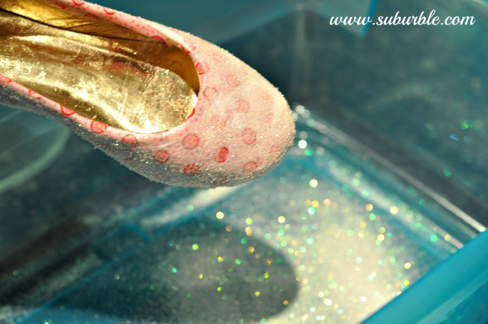 DIY Glitter Shoes 9 - Suburble