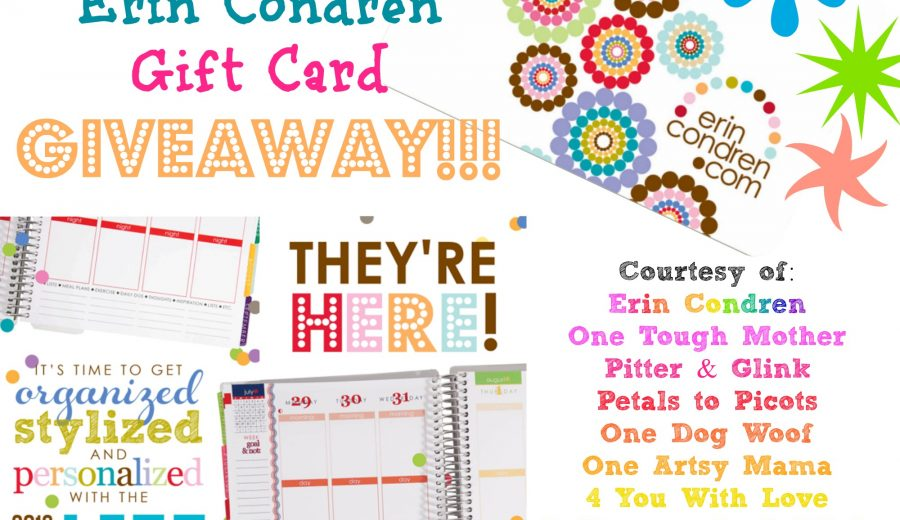 Back from Camping (with an Erin Condren giveaway in tow)!