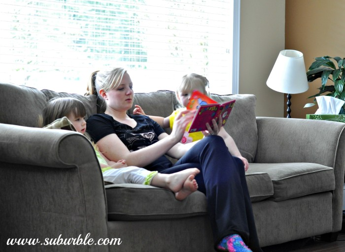 Reading with the Girls - Suburble