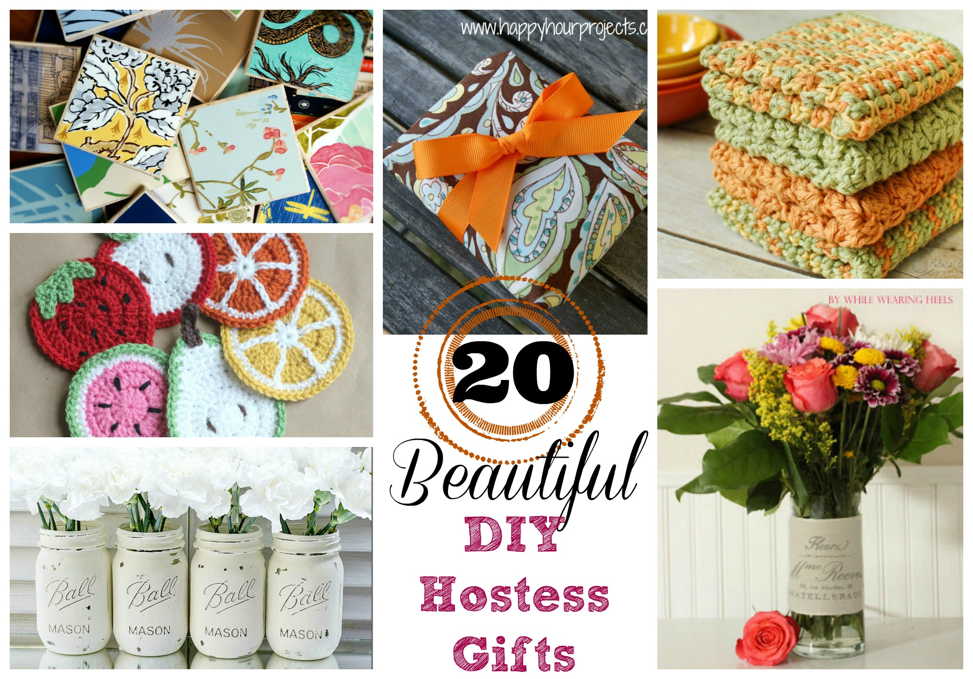 20 DIY Hostess Gifts With Number
