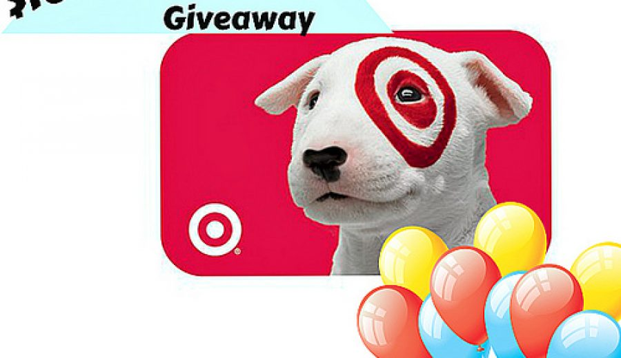 It's a great day for a giveaway! $160 Gift Card to Target up for grabs!