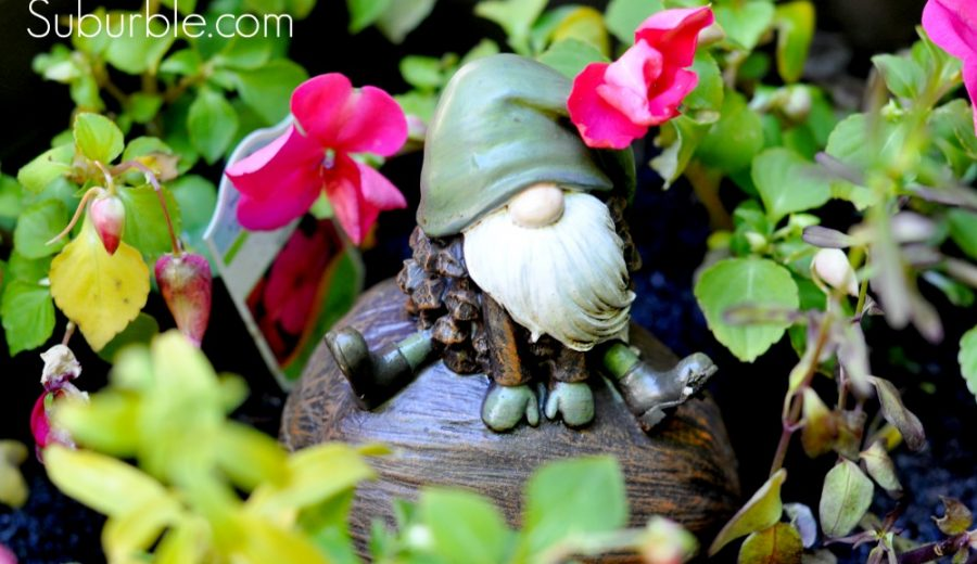 The Evolution of a Backyard, Part 2: I Heart Garden Ornaments