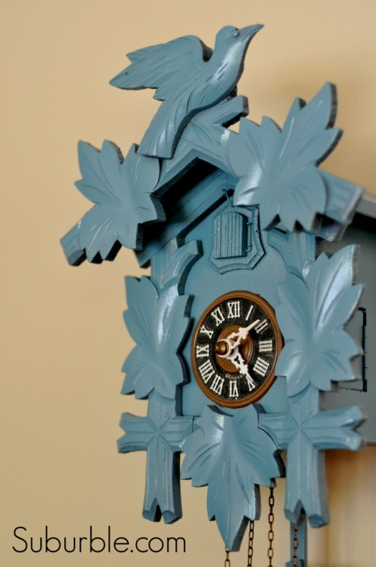 Cuckoo Clock Makeover 8 - Suburble
