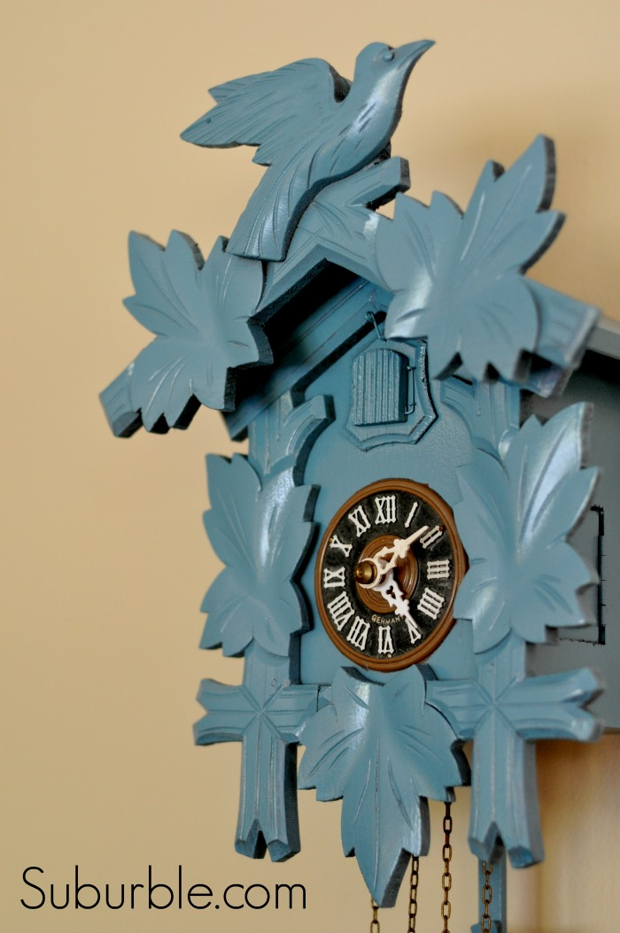 Cuckoo Clock Makeover 8 Suburble