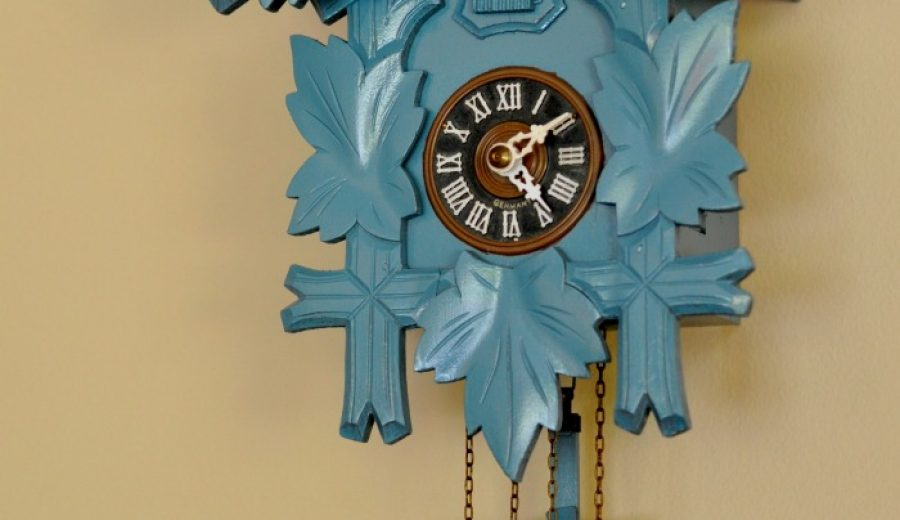 That Time I Spray-Painted A Cuckoo Clock…