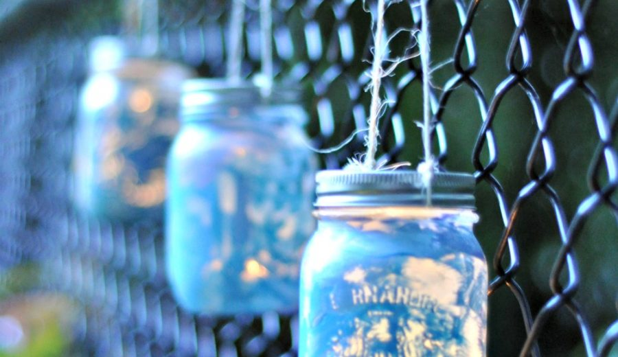 Crafty Kids: DIY Mason Jar Lanterns