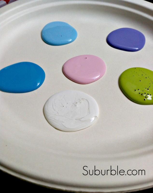 Painting Mason Jar Lanterns - Suburble