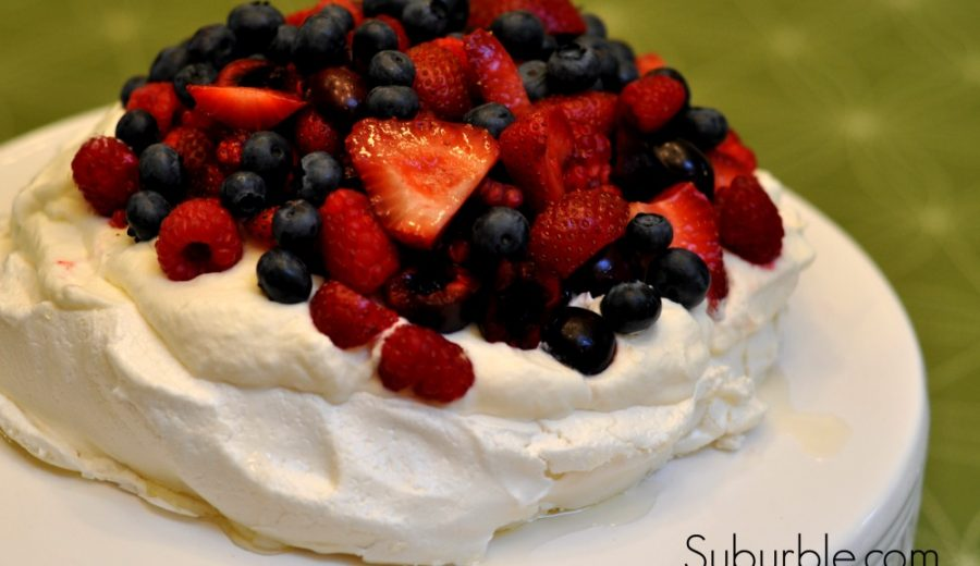 Dessert with a Friend: Pavlova with Fresh Fruit