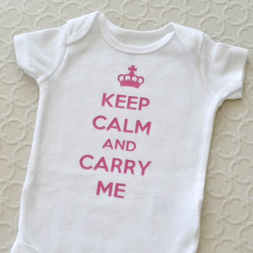 keep calm onesie sq - Suburble