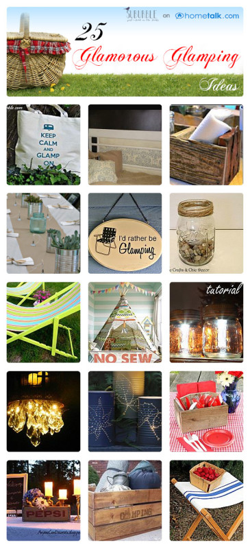 25 glamourous glamping ideas suburble for Glamping ideas diy