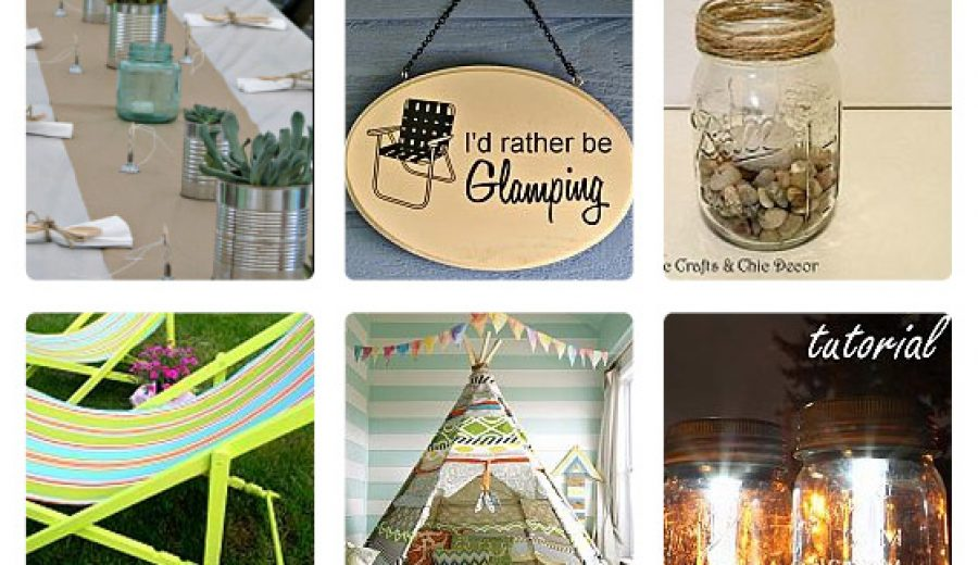 "25 Glamourous ""Glamping"" Ideas!"