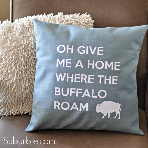 Buffalo Pillow 1 - Suburble