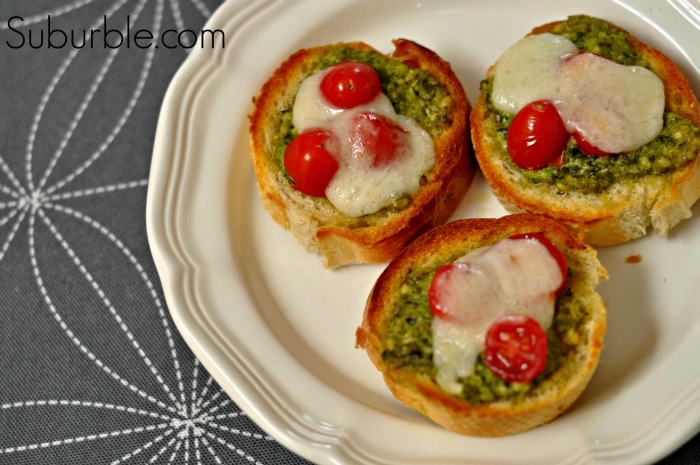 Pesto Mozzarella Melts - 2 Suburble