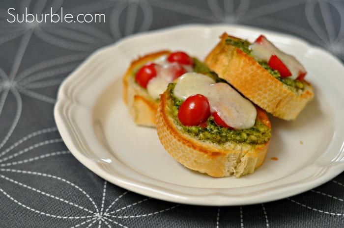 Pesto Mozzarella Melts  - Suburble
