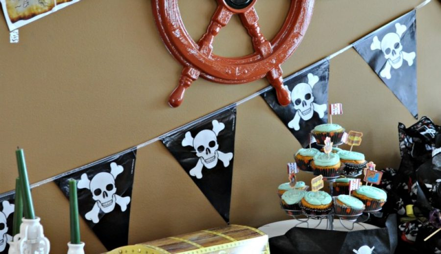 Yarrrr….. It's a Pirate Party!