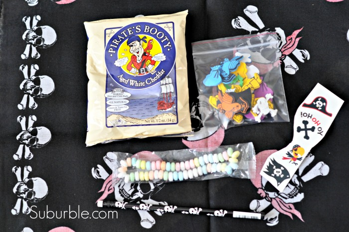 Pirate Party Loot Bag 1 - Suburble