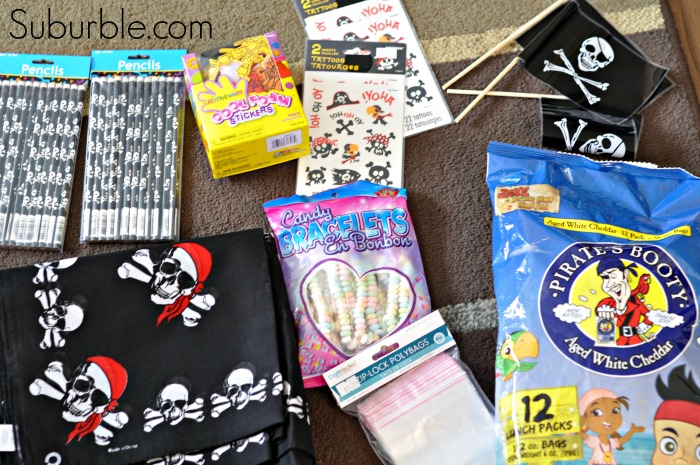 Pirate party Loot Bags - Suburble