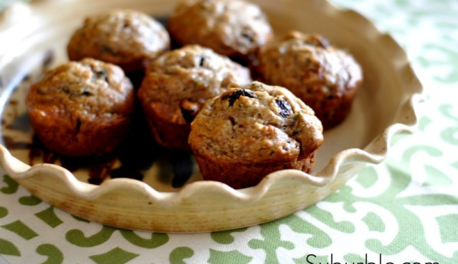 Delicious Zucchini Banana Muffins – and they're vegan too!