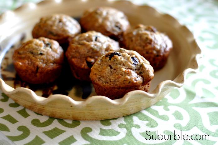 Zucchini Banana Muffins 1 - Suburble