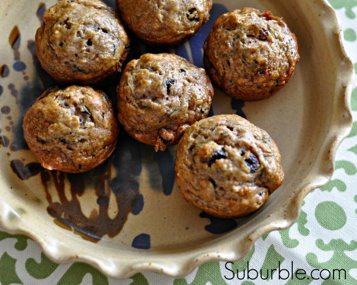 Zucchini Banana Muffins 2 - Suburble