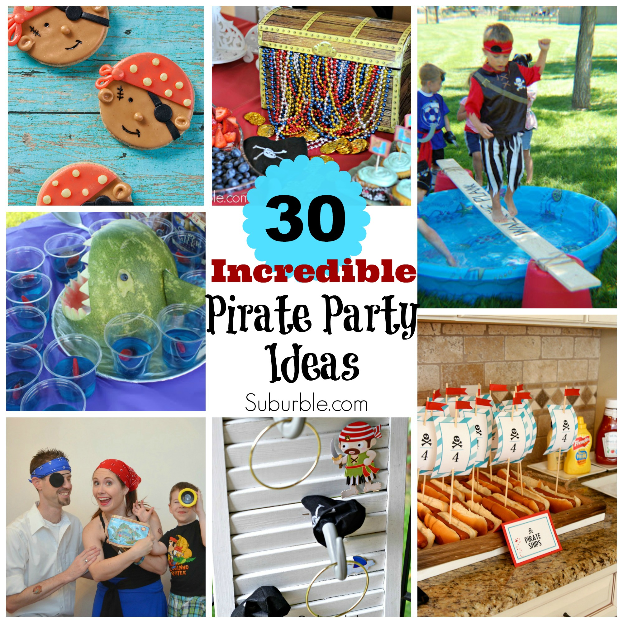 30 incredible pirate party ideas suburble - Th party theme ideas ...