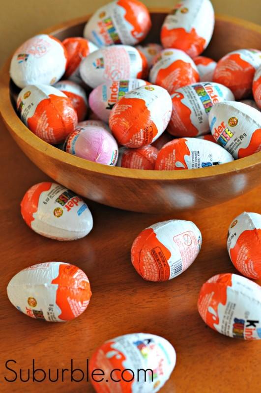 Kinder Eggs - Suburble.com