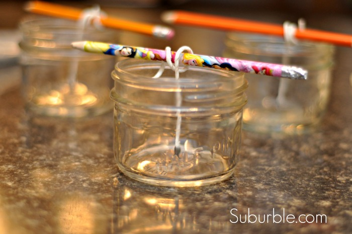 Make Beeswax Candles 4 - Suburble