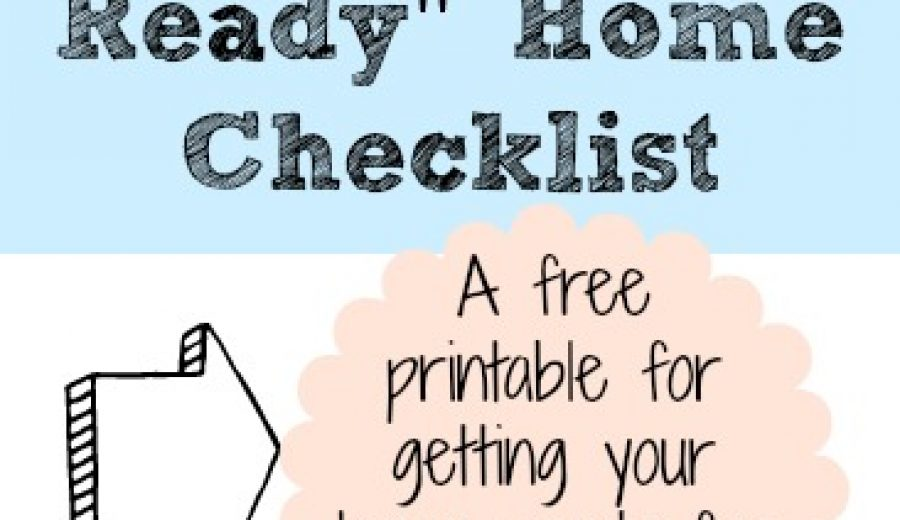 Selling Your House: The Showing Check-list
