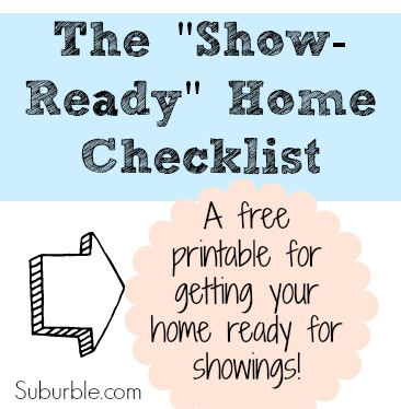 The Show Ready Home Checklist img - Suburble