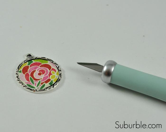 DIY Rose Pendant -4 - Suburble