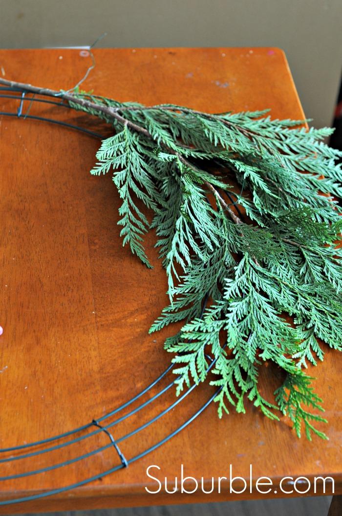 Diy Rustic Cedar Wreath And The 2013 Canadian Wreath Hop