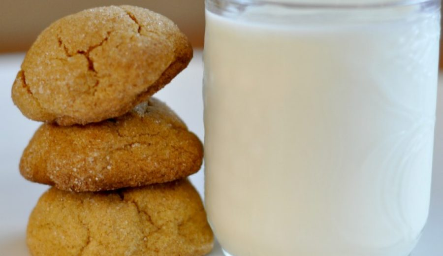 Soft and Chewy Ginger Snap Cookies