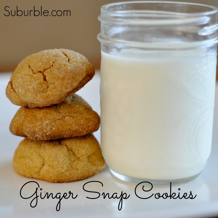 Ginger Snap Cookies - Suburble.com
