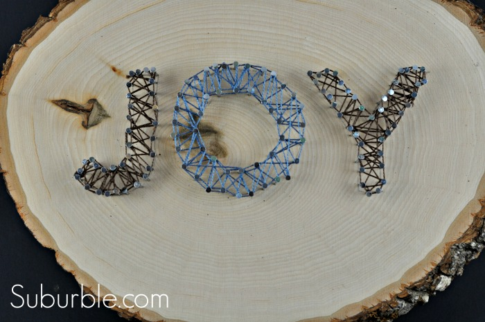 Joy String Art 1 - Suburble.com