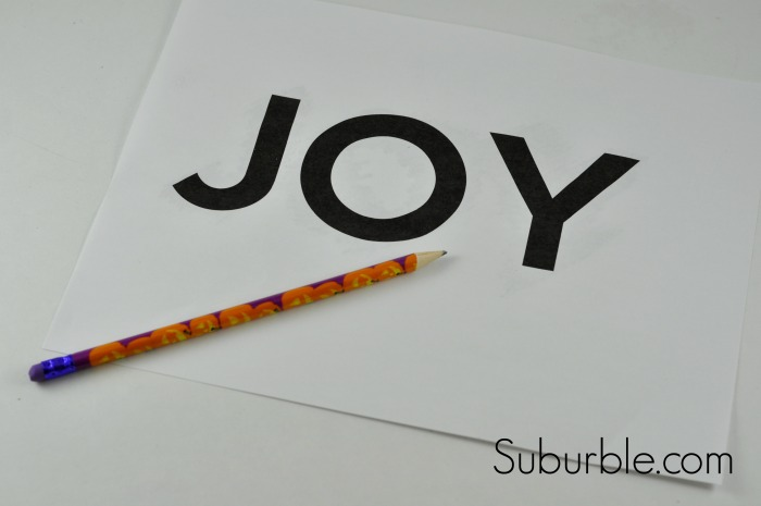 Joy String Art Tutorial 3 - Suburble