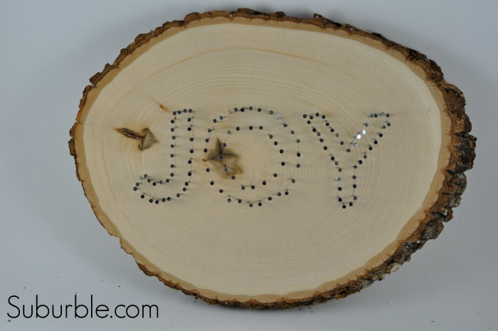 Joy String Art Tutorial 7 - Suburble