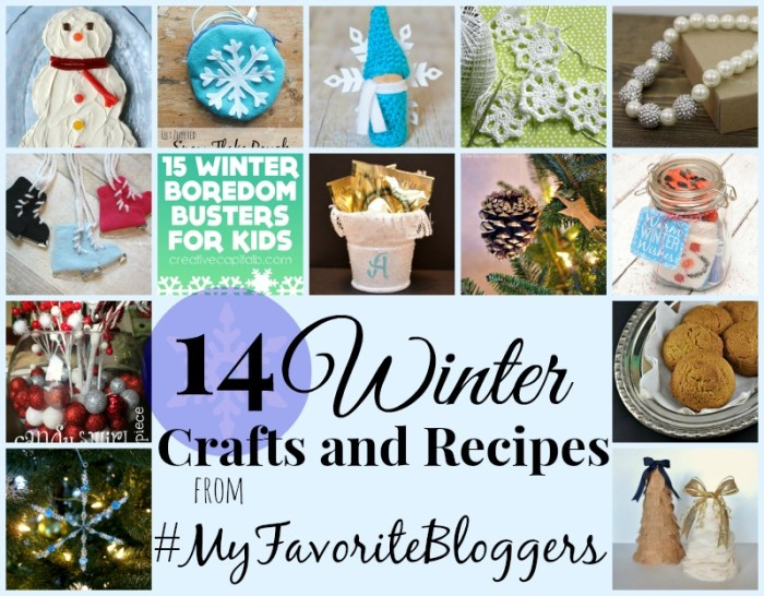 14 Winter Crafts and Recipes