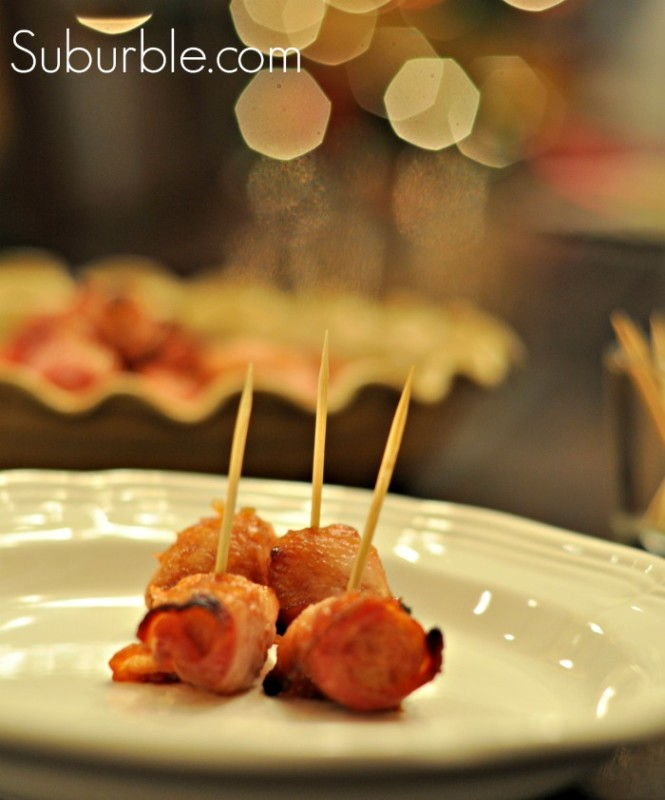 Bacon Wrapped Sausages - Suburble
