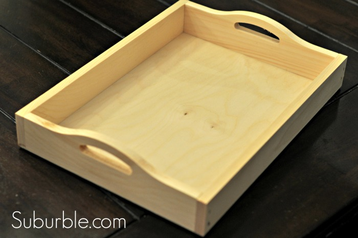 Chalkboard Tray - unfinished tray - Suburble.com